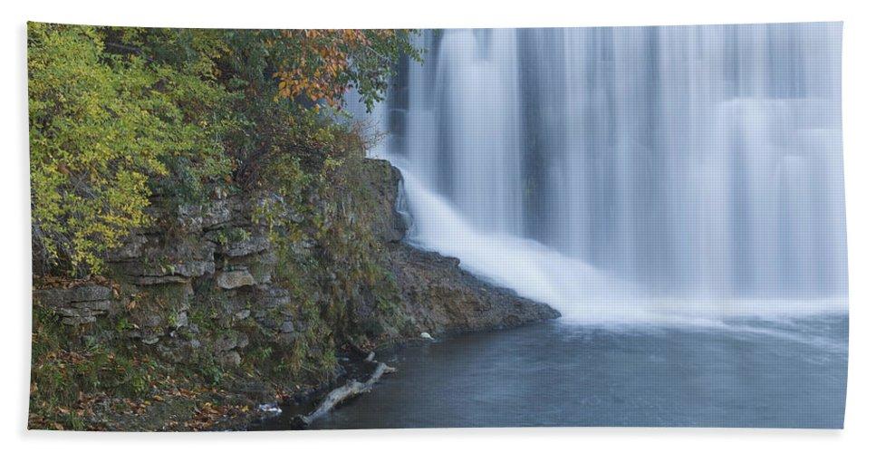 Dam Bath Sheet featuring the photograph Lanesboro Dam 13 by John Brueske