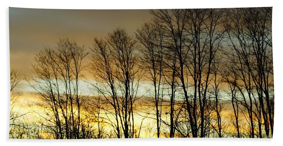 Sunset Hand Towel featuring the photograph Last Rays Of Light by Jeffery L Bowers