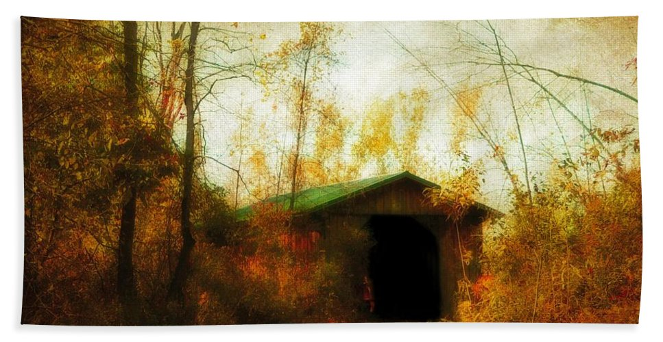 Fall Bath Sheet featuring the photograph Late October by Gothicrow Images