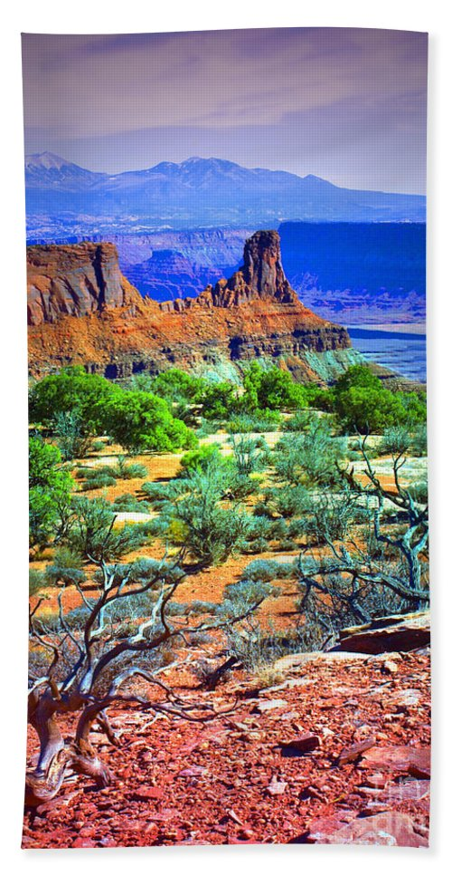 Canyonlands Hand Towel featuring the photograph Layers Of Earth by Tara Turner