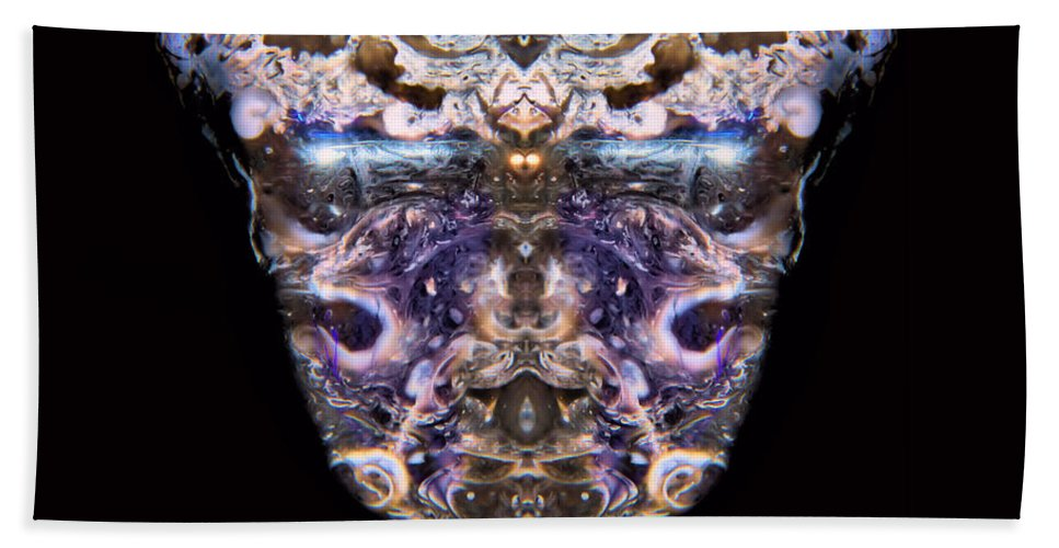 Leopard Heart Bowl Hand Towel featuring the photograph Leopard Heart Bowl by James Christiansen