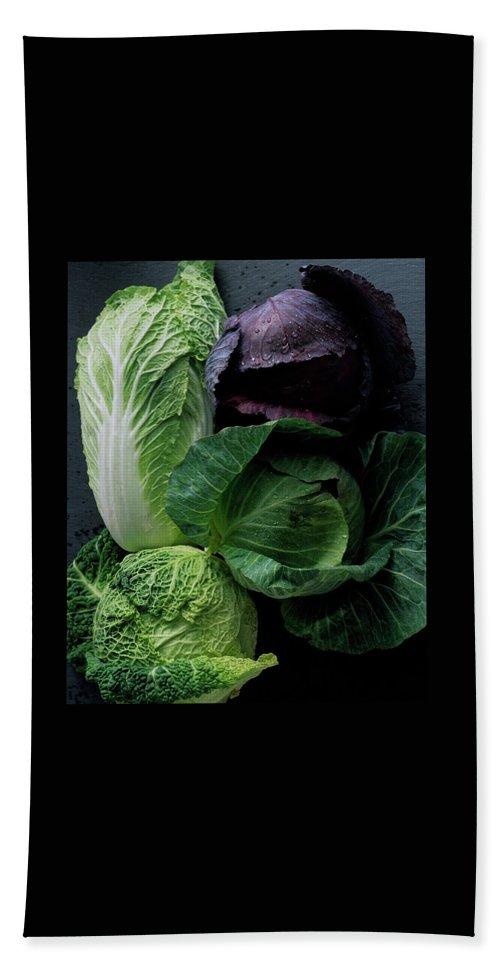 Fruits Bath Towel featuring the photograph Lettuce by Romulo Yanes
