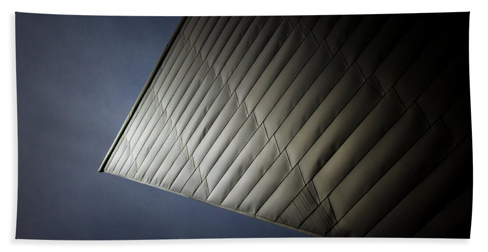Denver Bath Sheet featuring the photograph Libeskind by Dayne Reast