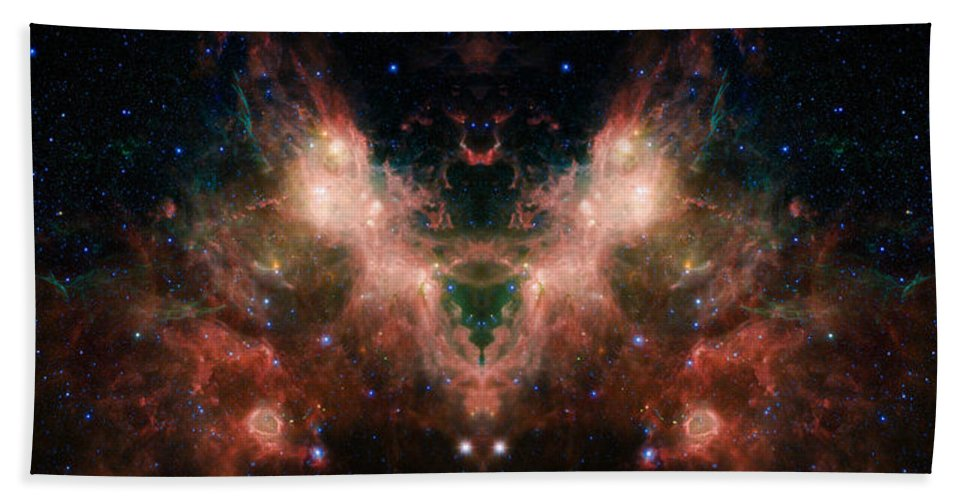 Nasa Images Hand Towel featuring the photograph Life And Death Of Stars 4 by Jennifer Rondinelli Reilly - Fine Art Photography