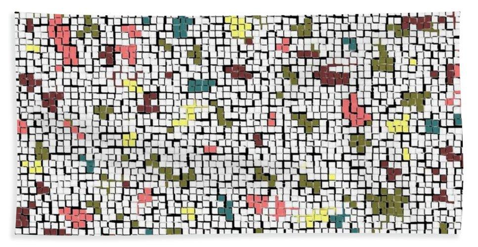 Abstract Bath Sheet featuring the photograph Life 'n Turmoil by Joseph Baril