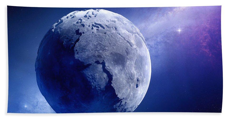 Earth Bath Towel featuring the photograph Lifeless Earth by Johan Swanepoel