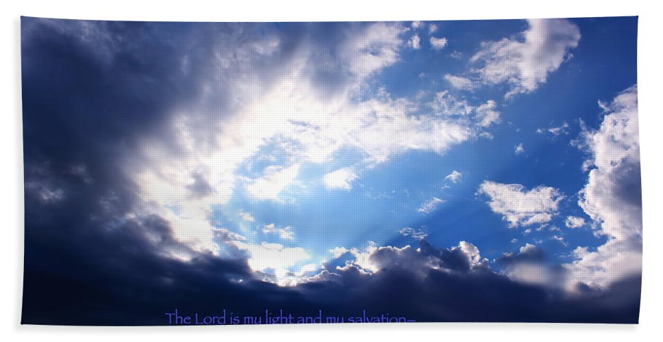 Light Bath Sheet featuring the photograph Light II by Kume Bryant