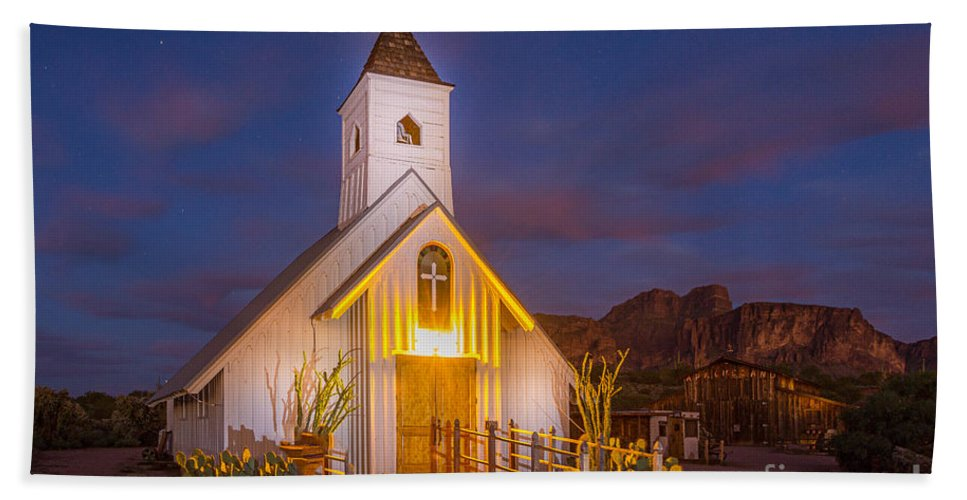 Light Painting Hand Towel featuring the photograph Light Painting 6 by Larry White