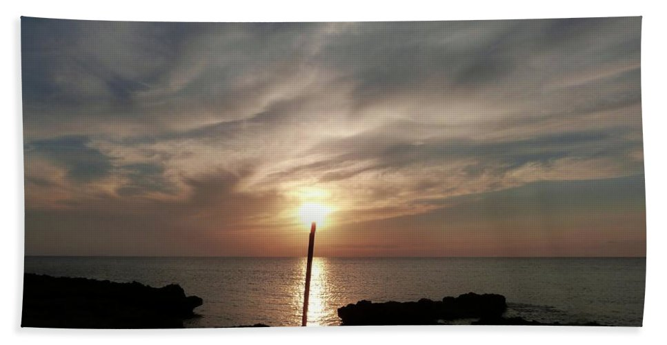 Color Bath Sheet featuring the photograph Light The Sun by Amar Sheow