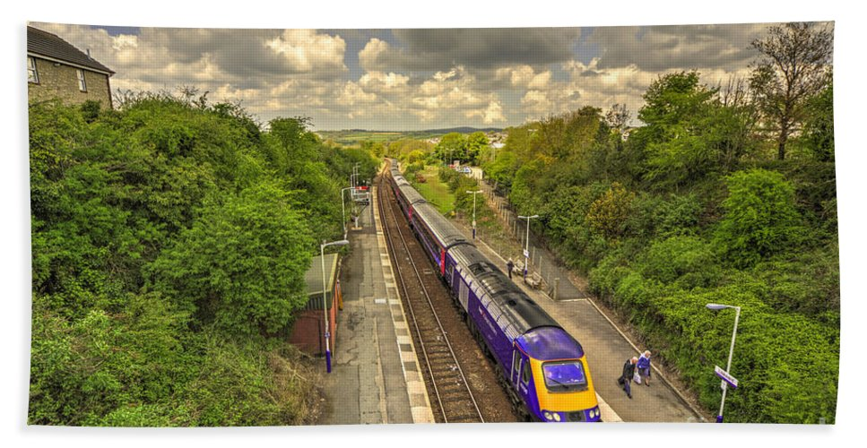 First Hand Towel featuring the photograph Liskeard Hst by Rob Hawkins