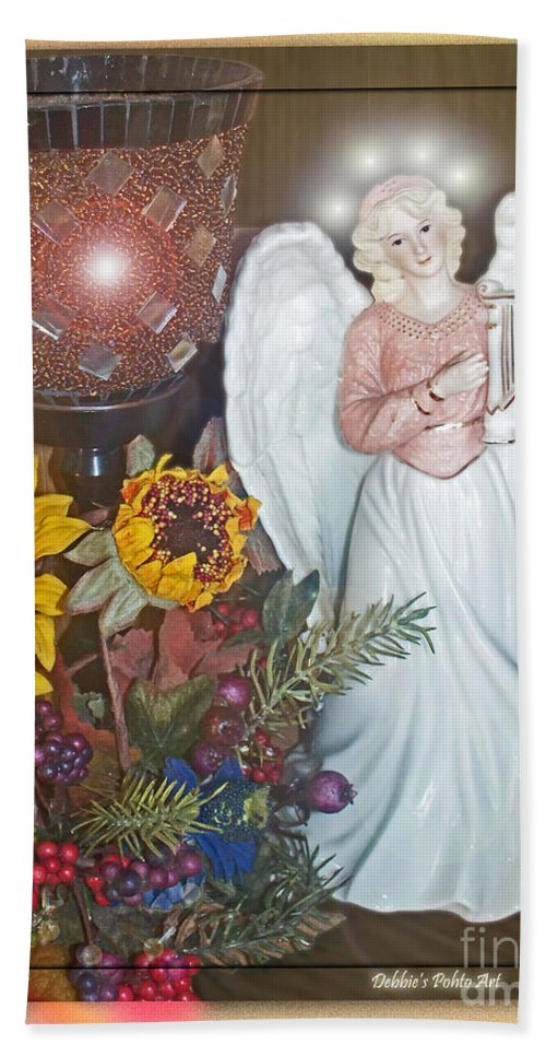 Still Life Hand Towel featuring the photograph Little Angle by Debbie Portwood
