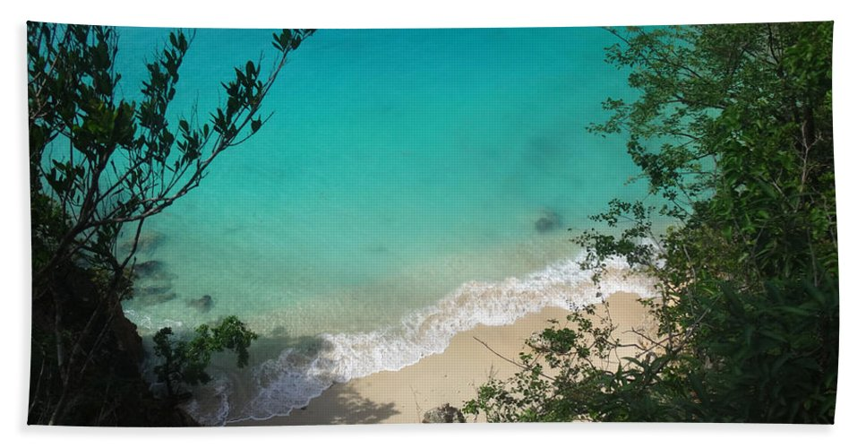 Anguilla Bath Sheet featuring the photograph Little Bay Latitude by Kristin Bourne