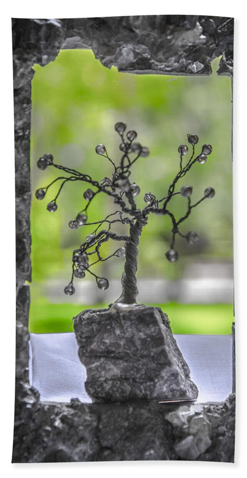 Unusual Bath Sheet featuring the photograph Little Pearl Tree II by Sotiris Filippou