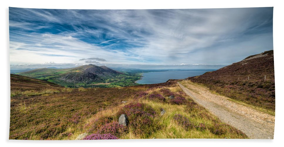 British Hand Towel featuring the photograph Llyn Peninsula by Adrian Evans