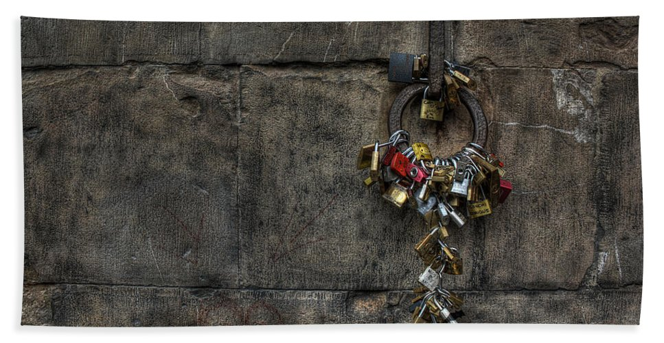 Bath Sheet featuring the photograph Locks Of Love by Michael Kirk