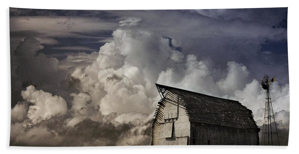 Barn Hand Towel featuring the photograph Lonely2 by Valarie Case