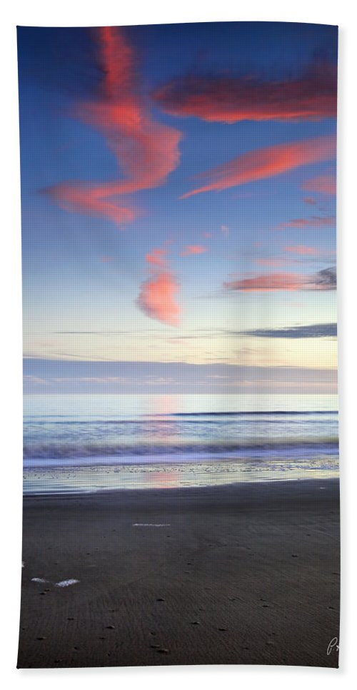 Beach Hand Towel featuring the photograph Looking East by Phill Doherty