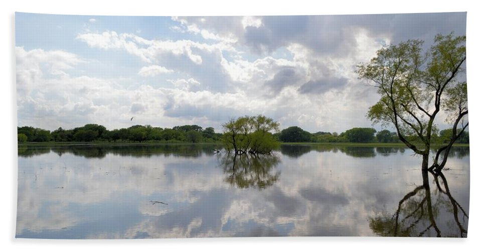 Glass Bath Sheet featuring the photograph Looking Glass by Bonfire Photography