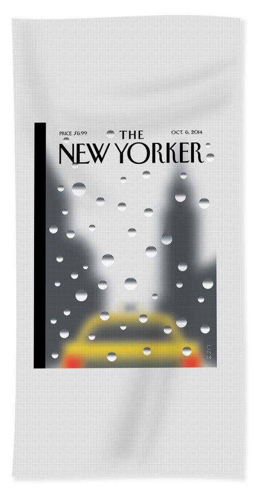 Rainy Day Bath Sheet