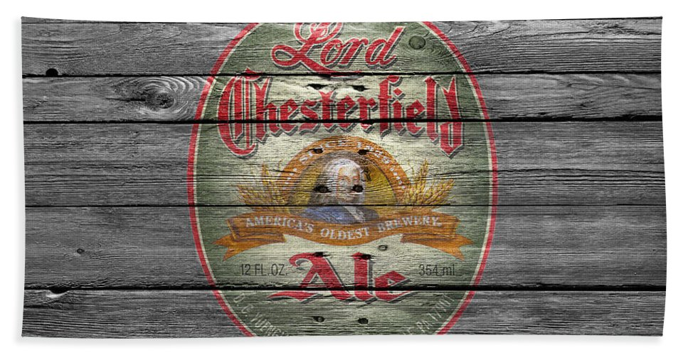 Lord Chesterfield Ale Hand Towel featuring the photograph Lord Chesterfield Ale by Joe Hamilton