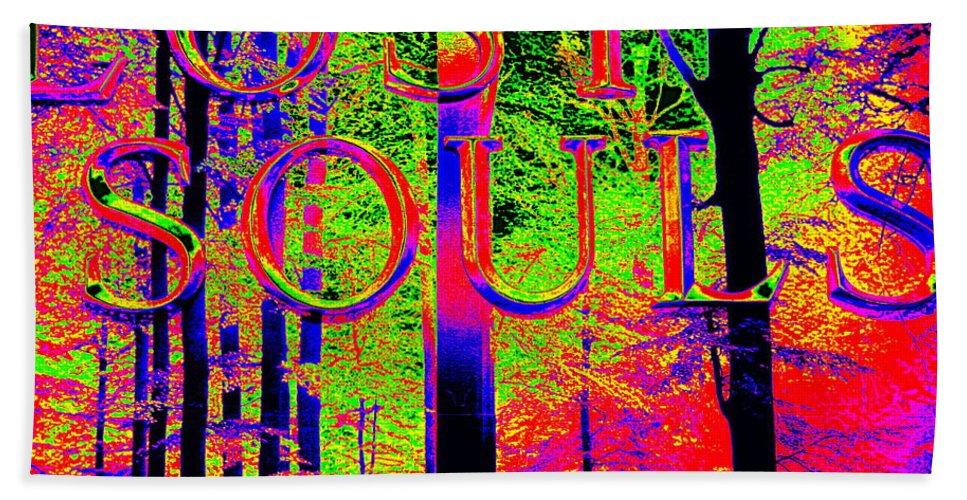 Pop Art Bath Sheet featuring the photograph Lost Souls by Ed Weidman