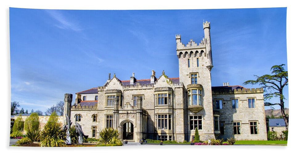 Lough Hand Towel featuring the photograph Lough Eske Castle - Ireland by Bill Cannon