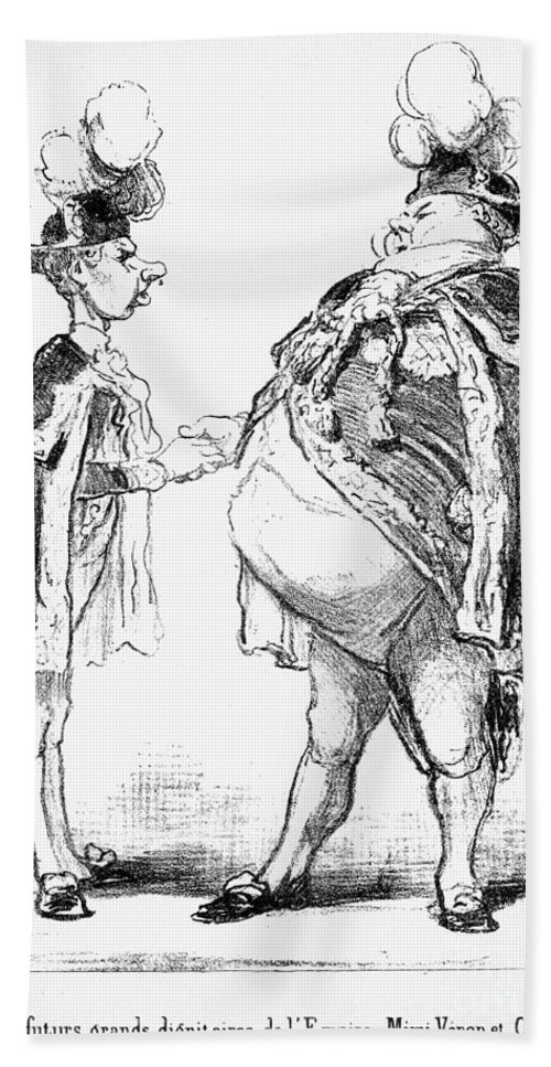 19th Century Bath Sheet featuring the photograph Louis-d�sir� V�ron by Granger