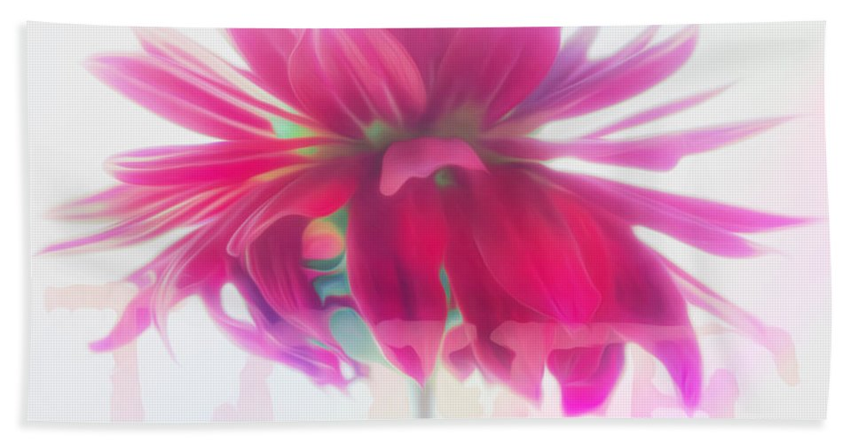 Vibrant Bath Sheet featuring the photograph Love by Hal Halli