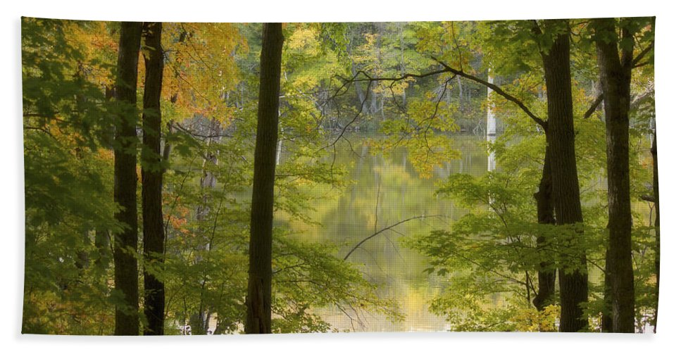 Maplewood State Park Bath Sheet featuring the photograph Magical Maplewood by Penny Meyers