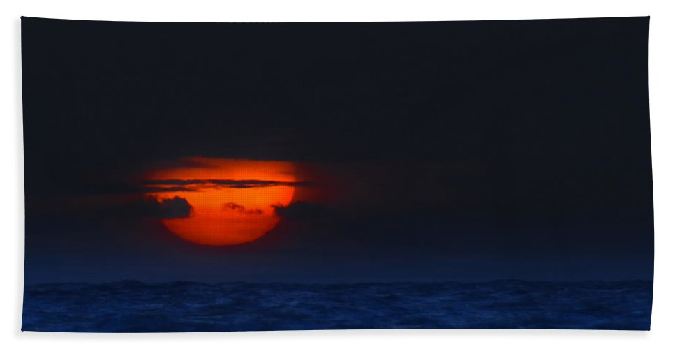 Sunrise Hand Towel featuring the photograph Magical Sunrise by Mark Andrew Thomas