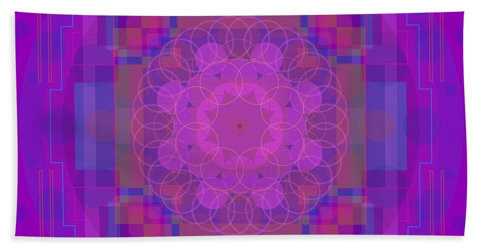 Digital Bath Sheet featuring the digital art Maia 2013 by Kathryn Strick