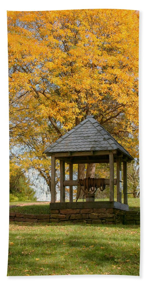 Autumn Hand Towel featuring the photograph Make A Wish by Kim Hojnacki