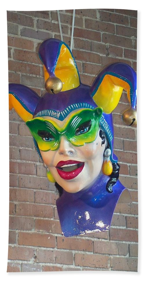 Mardi Gras Hand Towel featuring the photograph Mardi Gras by Richard Booth