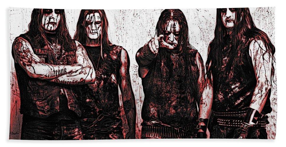 Marduk Hand Towel featuring the photograph Marduk by Lyriel Lyra
