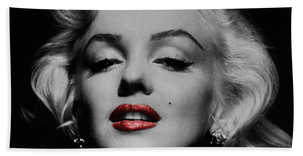 Marilyn Lips Personalized 3 Piece Bath Towel Set ANY COLOR