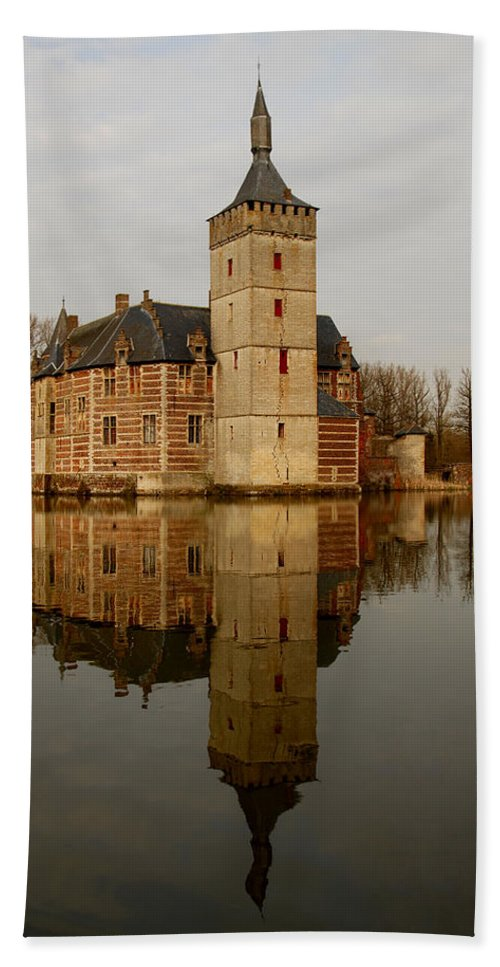 Ancient Hand Towel featuring the photograph Medieval Castle by TouTouke A Y