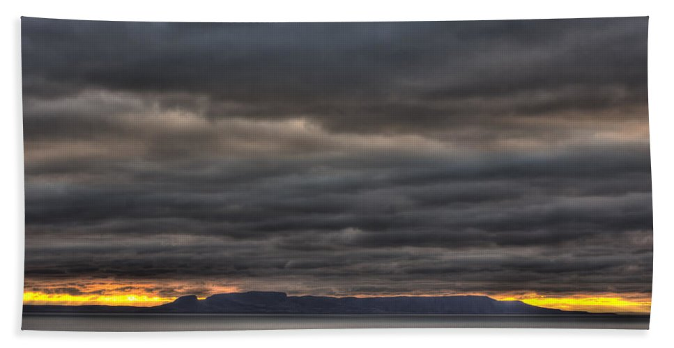 Autumn Hand Towel featuring the photograph Menacing Skies by Jakub Sisak