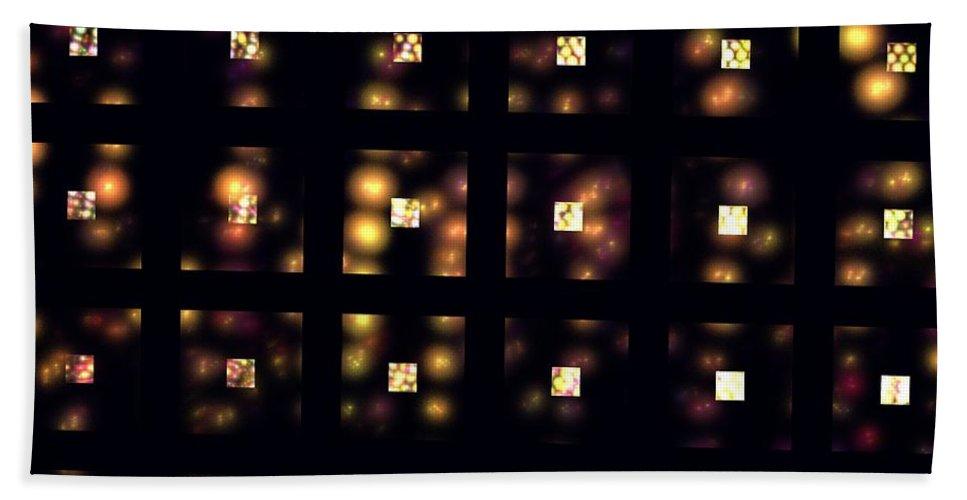 Apophysis Hand Towel featuring the digital art Metropolis by Kim Sy Ok