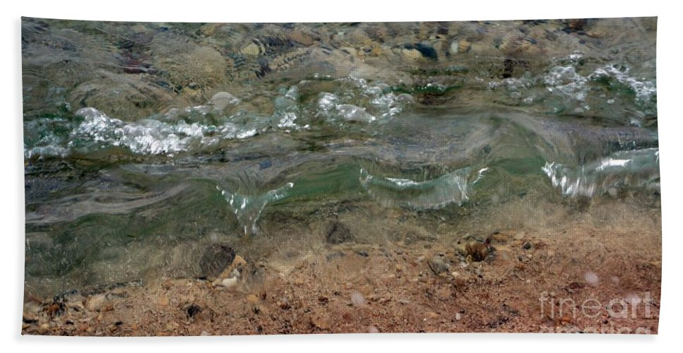 Waves Bath Sheet featuring the photograph Microwaves II by Lilliana Mendez