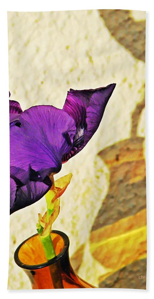 Bloom Bath Sheet featuring the photograph Mid November by Chris Berry