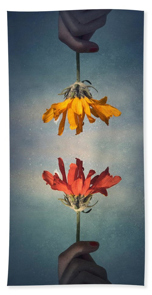 Middle Ground Bath Towel featuring the photograph Middle Ground by Tara Turner