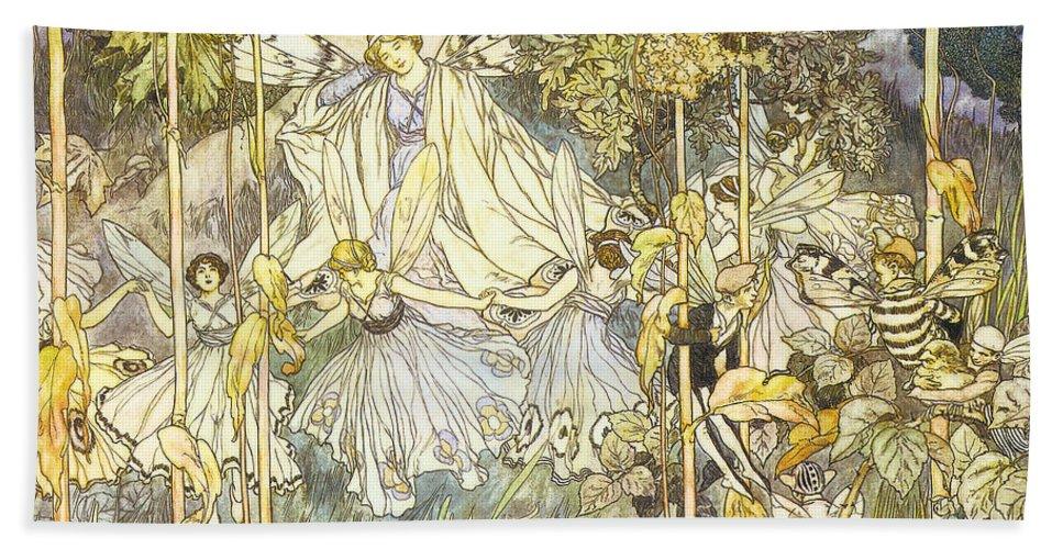 Francis Danby Bath Sheet featuring the digital art Midsummer's Night Dream by Stephene Reid