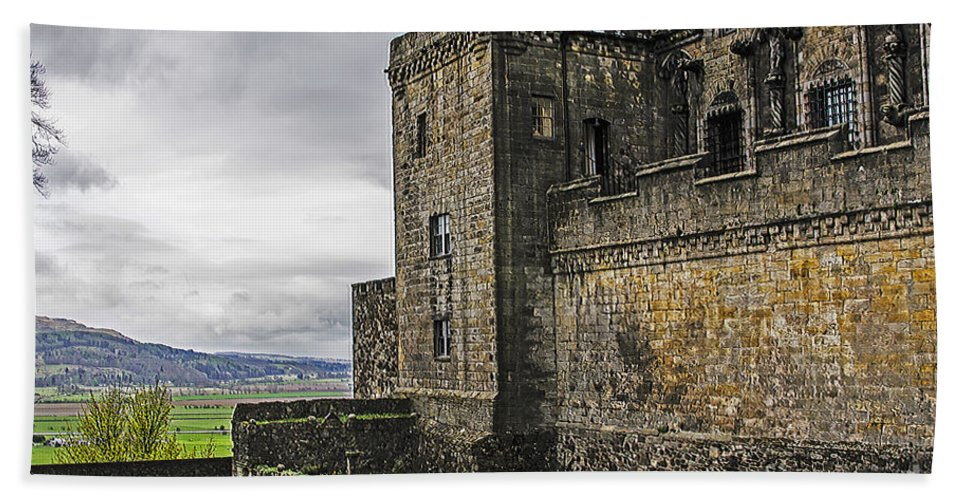 Travel Hand Towel featuring the photograph Military Fortress by Elvis Vaughn