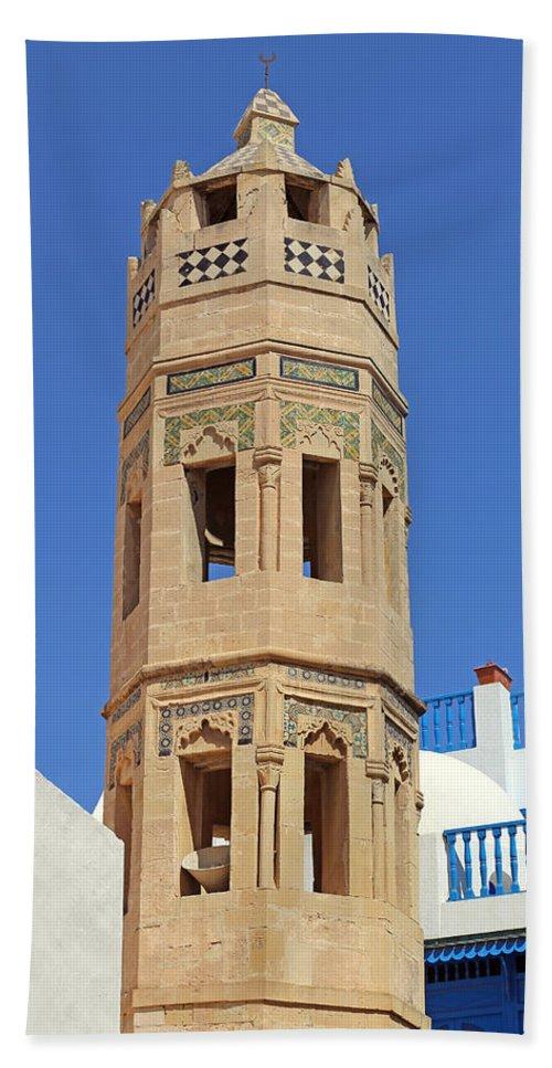 Mosque Bath Sheet featuring the photograph Minaret by Paul Fell