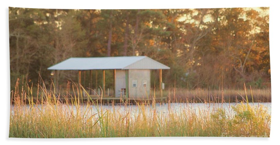Mississippi Bath Sheet featuring the photograph Mississippi Bayou 1 by Michelle Powell