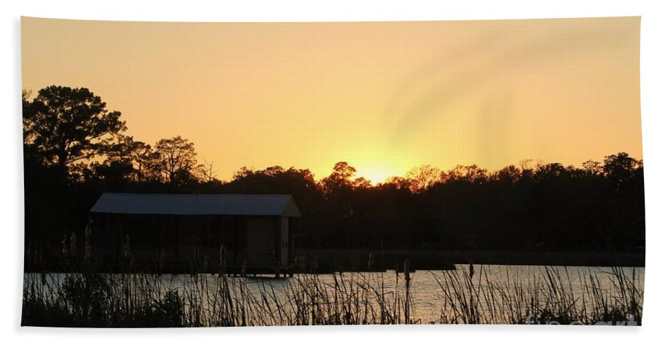 Mississippi Hand Towel featuring the photograph Mississippi Bayou 11 by Michelle Powell