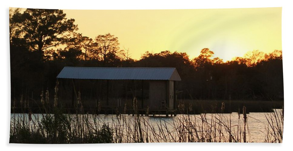 Mississippi Hand Towel featuring the photograph Mississippi Bayou 12 by Michelle Powell