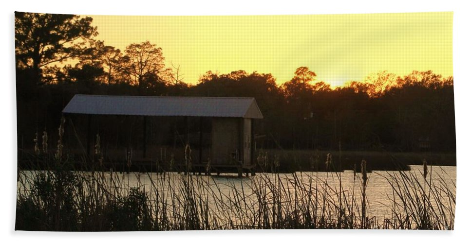 Mississippi Hand Towel featuring the photograph Mississippi Bayou 15 by Michelle Powell