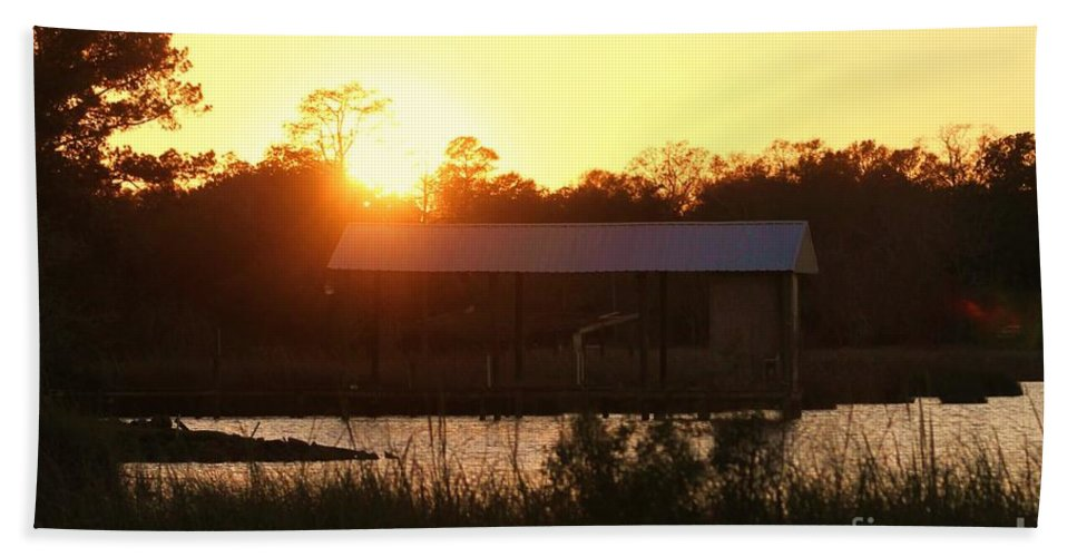 Mississippi Bath Sheet featuring the photograph Mississippi Bayou 6 by Michelle Powell