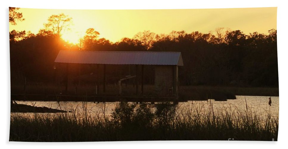 Mississippi Hand Towel featuring the photograph Mississippi Bayou 7 by Michelle Powell